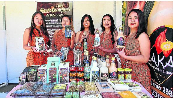 El aroma a café llega a Huancayo con expoferia