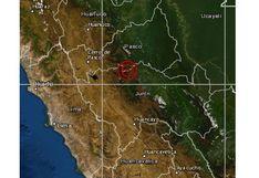Pasco: sismo de magnitud 4 se registró en Oxapampa,