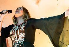 Adele se mostró incómoda por la reacción de las mujeres ante su notable cambio físico
