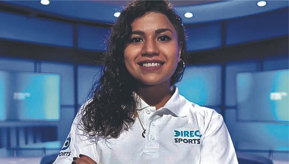 Rosa María no avanza sola, convertirse en la primera narradora de la Liga 1 marca un precedente y le abre las puertas a más mujeres con el mismo objetivo