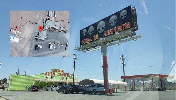 """Google Maps: Esto pasa en tu PC si buscas el """"Área 51"""" mientras se agota hospedaje en """"zona de Ovnis"""""""