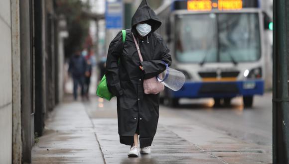 Según pronostica el Senamhi, en la temporada de invierno habrá altos niveles de humedad y lloviznas en Lima. Recuerde tomar sus precauciones para no enfermarse.  (Foto: Lino Chipana Obregón / @photo.gec)