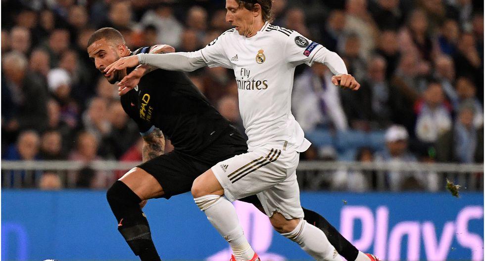 Real Madrid - Manchester City: 1-2 por la Champions League