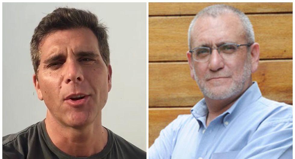 Álvarez Rodrich cuestiona nivel académico de Christian Meier y él le responde (FOTOS)