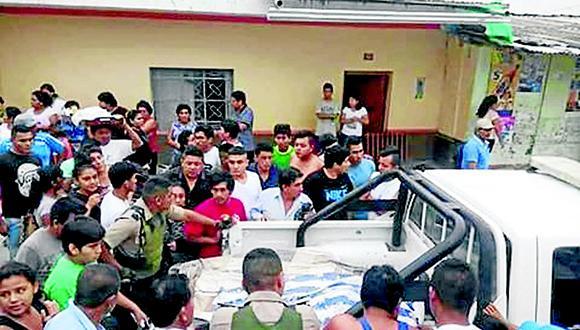 Padre e hijo son emboscados y baleados por dos sicarios en el distrito de Frías