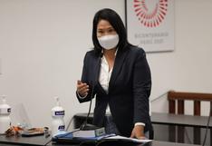 Fiscal Pérez apeló a resolución que rechazó pedido de prisión preventiva contra Keiko Fujimori