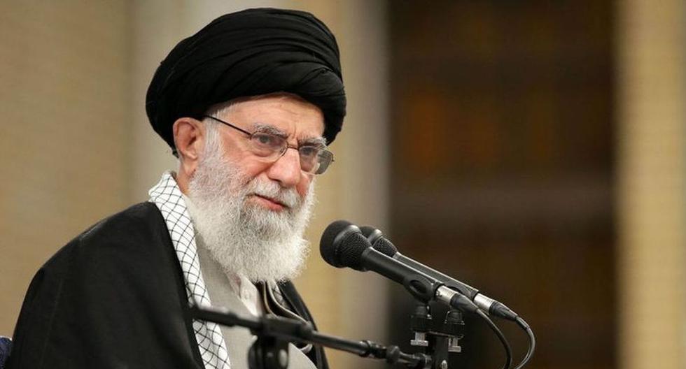 Fotografía del líder supremo de Irán, Alí Jamenei. (AFP).