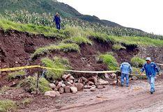Cusco: andén inca colapsa debido a fuertes lluvias (VIDEO)