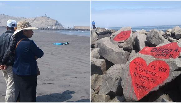 Padres de escolar desaparecido en el mar de Salaverry piden que continúe la búsqueda