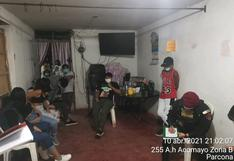 Ica: Policía interviene dos fiestas COVID en los distritos de San Juan Bautista y Parcona