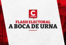 Flash electoral a boca de urna región por región, según Ipsos