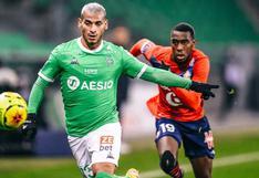 Miguel Trauco recibió elogios del técnico de Saint-Étienne tras reciente actuación