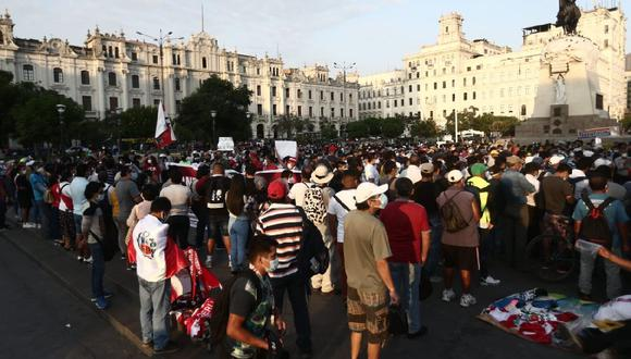 La plaza San Martín ha sido sede de diversas manifestaciones ciudadanas. (Jesús Saucedo/ GEC)