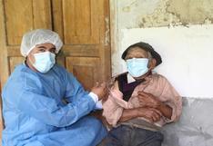 Hombre más longevo del país recibió vacuna contra la Covid-19 en Huánuco (VIDEO)