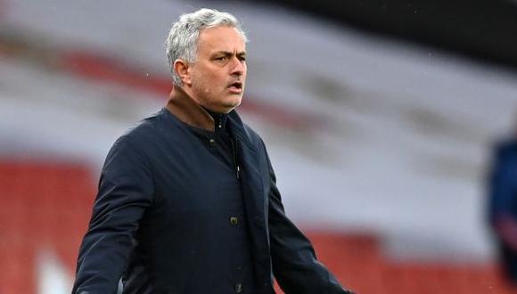 José Mourinho dejó hace algunas semanas la dirección técnica de Tottenham. (Foto: AFP)