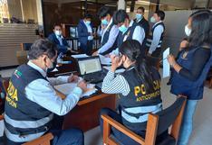 Fiscalía realiza constatación en oficinas del GRA por caso Jardín del Colca