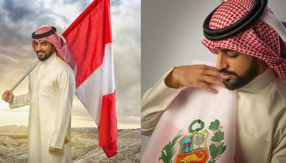 Yaqoob Mubarak reiteró lo mucho que quiere el Perú. (Intagram)