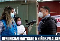 Clausuran albergue denunciado por maltratar a niños en Pachacamac (VIDEO)
