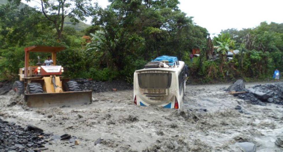 Fuertes lluvias causan estragos en Cusco