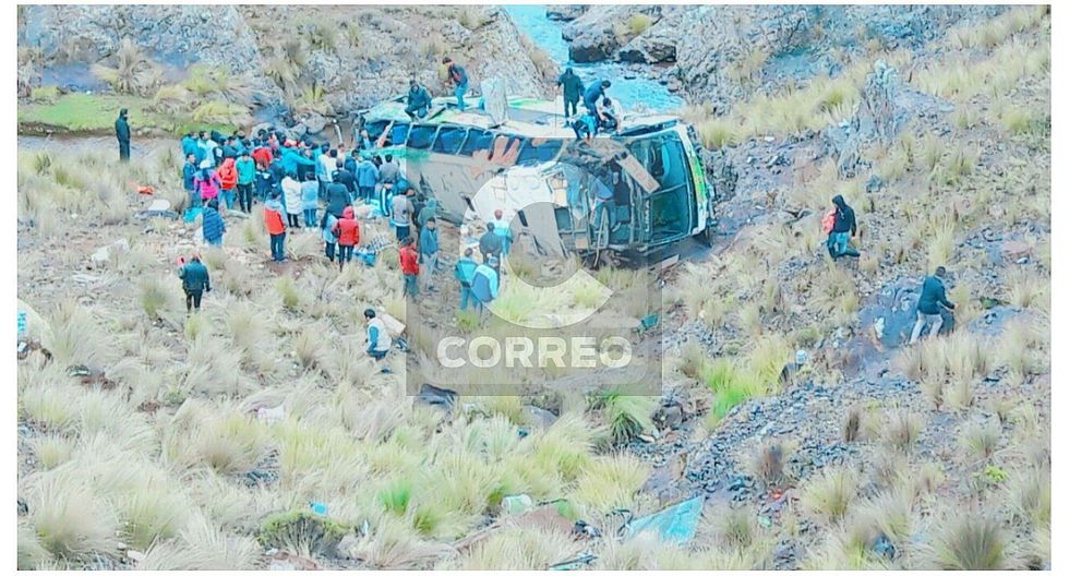 Tragedia en Puquio: 10 muertos deja caída de bus que iba de Lima a Cusco (FOTOS)