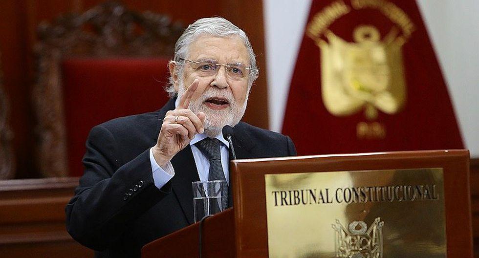 Ernesto Blume asegura que Comisión Especial cumplió ley para elección de miembros de Junta Nacional de Justicia