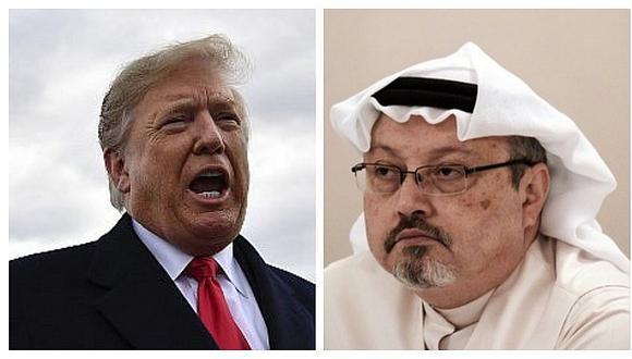 Donald Trump dijo que no quiere escuchar la grabación de la muerte de periodista saudí