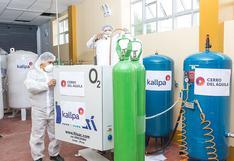 Más oxígeno medicinal para tayacajinos, entregan planta a Hospital de Pampas