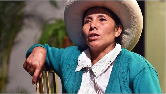 Máxima Acuña demandó al Perú ante Comisión Interamericana de Derechos Humanos