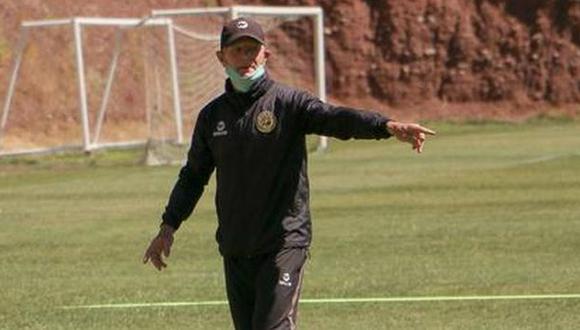 Carlos Ramacciotti asumió como entrenador de Cusco FC en octubre pasado. (Foto: Cusco FC)