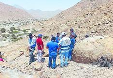 Inician estudios para represa Bombón en Casma