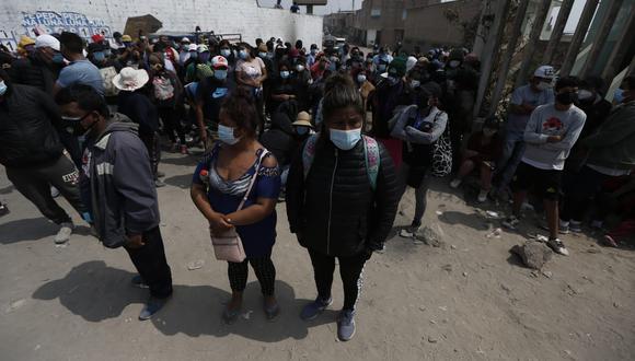La invasión ya lleva 15 días en el lugar y se calcula que hay más de 10.000 personas viviendo allí.  Fotos : Jorge Cerdan /@photo.gec