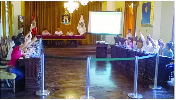 Concejo de Trujillo aprueba exoneración de arbitrios 2017 para los damnificados