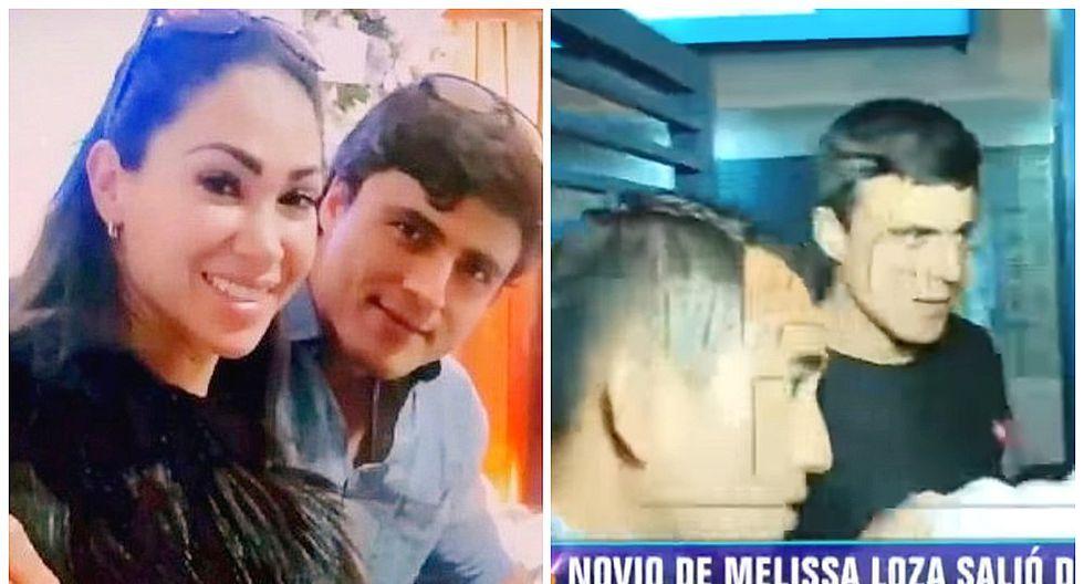 Novio de Melissa Loza fue liberado y así fue su emotivo reencuentro con la modelo (VIDEO)