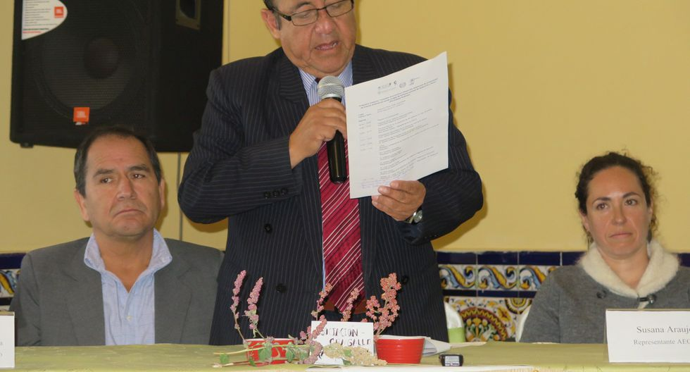 Ayacucho fue incluida en programa para recudir la pobreza a través de la producción de la quinua