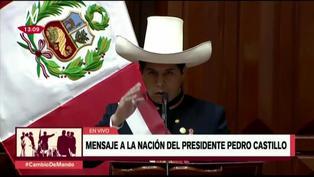 Pedro Castillo anuncia que no vivirá en Palacio de Gobierno y que será convertido en museo (VIDEO)