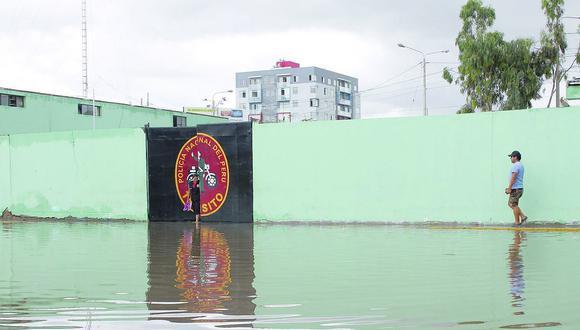 Proyectan reparación de comisarías tras lluvias
