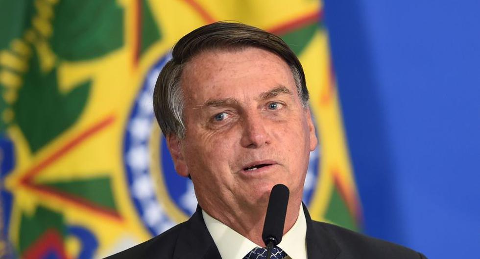 """Jair Bolsonaro había comentado a un grupo de seguidores que tenía el cálculo desde hacía más de cinco años y que era del tamaño de un """"grano de fríjol"""". (Foto: EVARISTO SA / AFP)."""