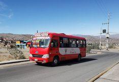 Alcalde de Arequipa adelanta la reanudación del servicio de transporte desde el 1 de julio