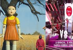 """El juego del calamar: Yolanda Medina dice que en 'Reinas del show' se vive el """"Jugaremos muévete luz verde"""" (VIDEO)"""