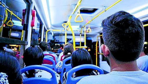 Una banda de hampones encañona a los pasajeros de un ómnibus de Piura
