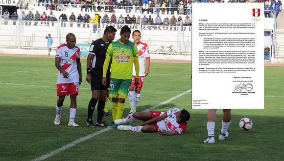 Cancelan el campeonato de la Copa Perú 2020 por la COVID-19