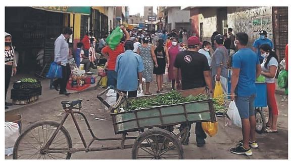 Lambayeque: Mercados aún son un riesgo por caos y falta de limpieza