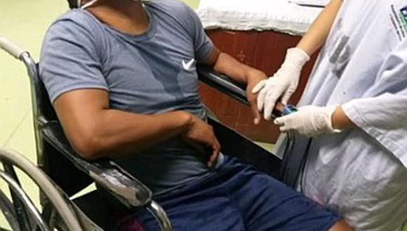 Policías salvan la vida de un joven que ingirió veneno