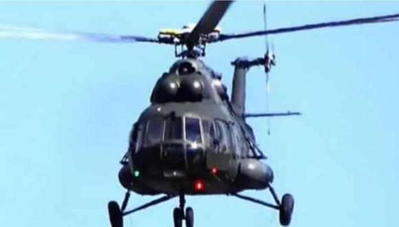Amazonas: helicóptero de la Fuerza Aérea del Perú desaparece con cuatro militares. (Foto referencial)