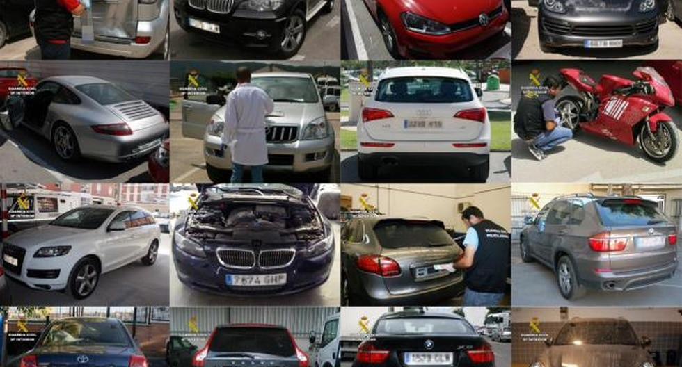 Cae una red que robó 200 vehículos de lujo en España y los revendió en Paraguay
