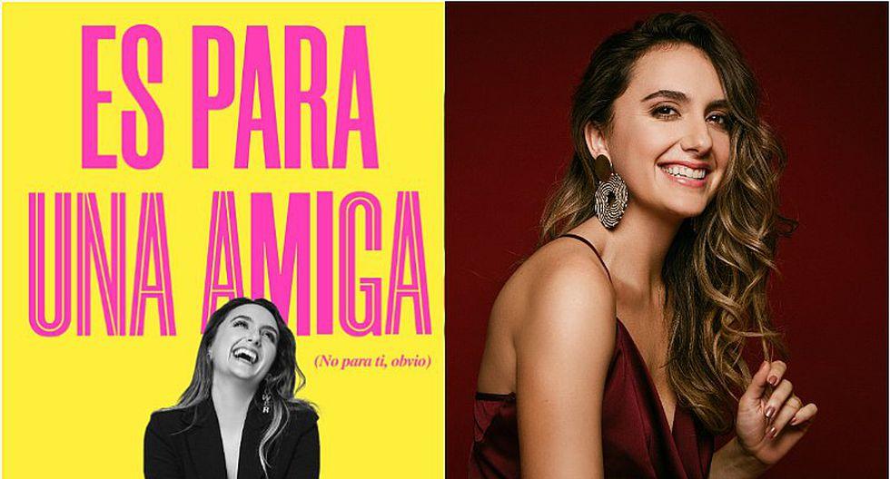 """FIL Lima 2019: María José Osorio, la Soltera Codiciada, presentará su nuevo libro """"Es para una amiga"""""""
