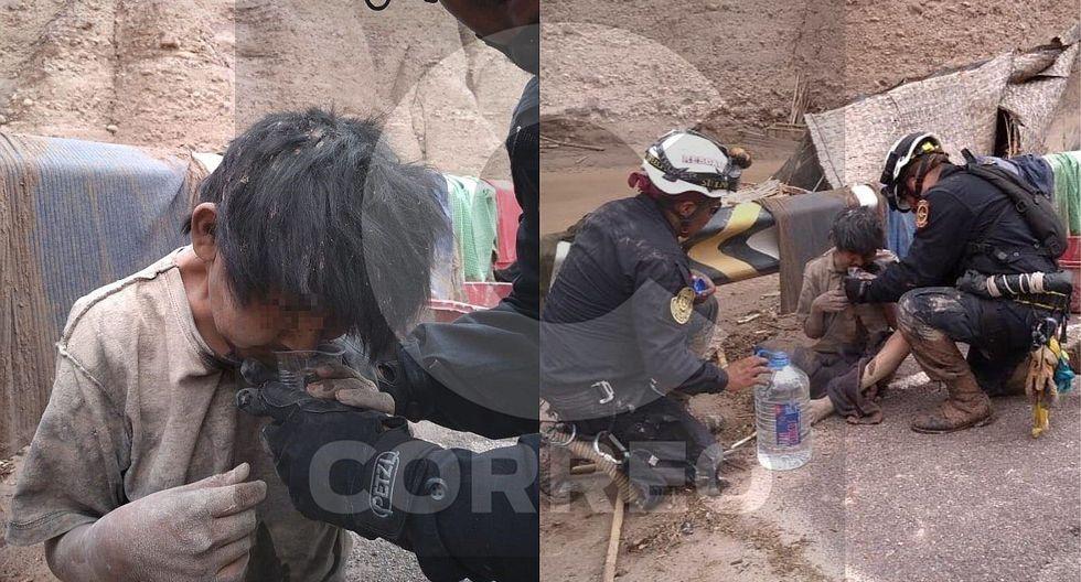 Huaico en Tacna: Hallan sobreviviente en medio de los escombros (FOTOS)