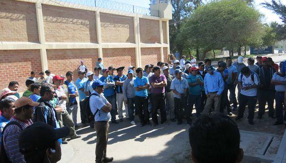 Moquegua: Con plantón consiguieron puestos de trabajo