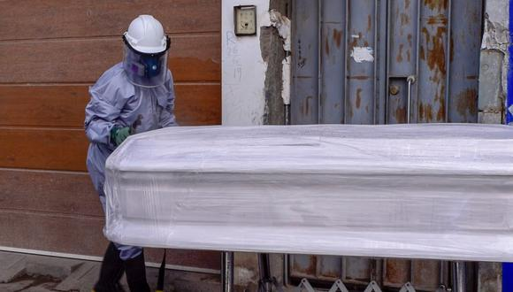 Muertos por Covid-19 en el centro del país.