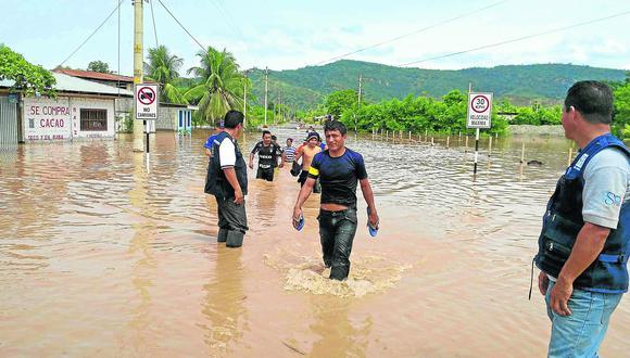 Inundaciones en la Selva Central por intensas lluvias